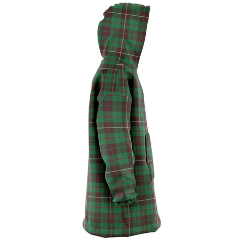 MacKinnon Hunting Ancient Snug Hoodie - Unisex Tartan Plaid Right