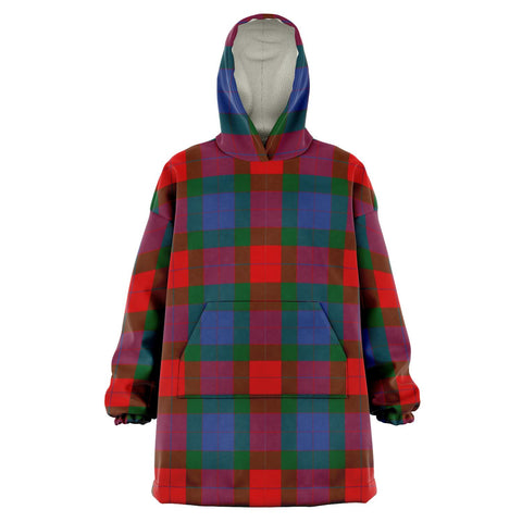 Image of Mar Snug Hoodie - Unisex Tartan Plaid Front