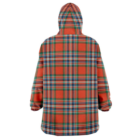 Image of MacFarlane Ancient Snug Hoodie - Unisex Tartan Plaid Back