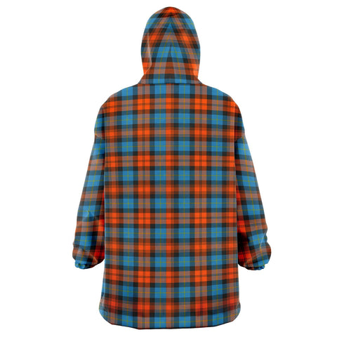 Image of MacLachlan Ancient Snug Hoodie - Unisex Tartan Plaid Back