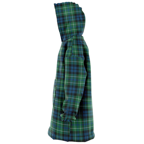 MacNeill of Colonsay Ancient Snug Hoodie - Unisex Tartan Plaid Left
