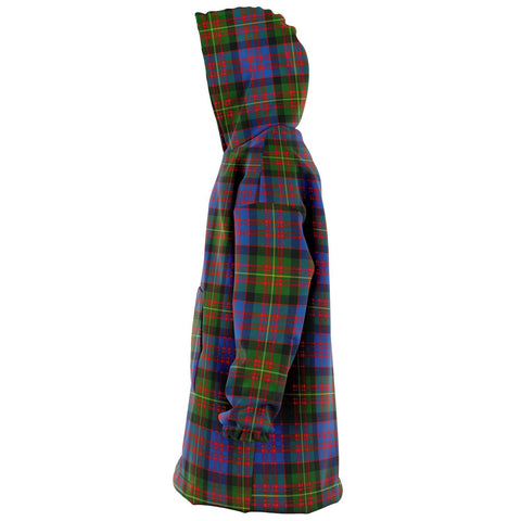 Carnegie Ancient Snug Hoodie - Unisex Tartan Plaid Left