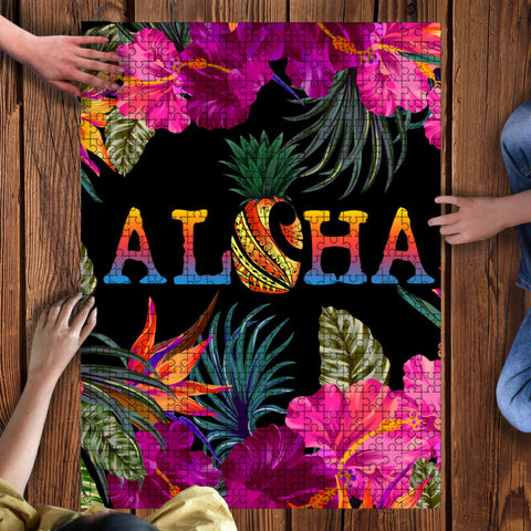 Kanaka Maoli (Hawaiian) Wood Puzzle - Tiki Night Party | Love The World
