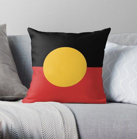 Aboriginal Flag Pillow Covers Nn6 | 1sttheworld.com