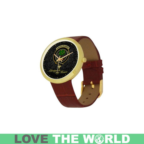 Abercrombie (Or Abercromby) In My Heart Tartan Luxury Watch K7 |Accessories| Love The World