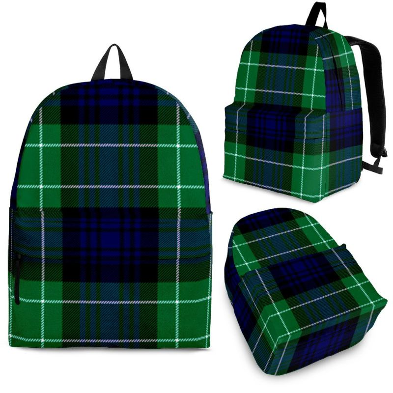 Abercrombie Tartan Backpack Backpacks