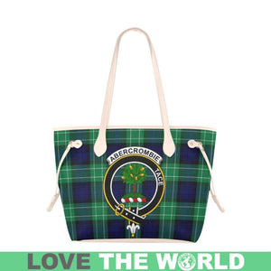 Abercrombie Tartan Handbag - Tartan Clan Badge Large Leather Tote Bag Nn5