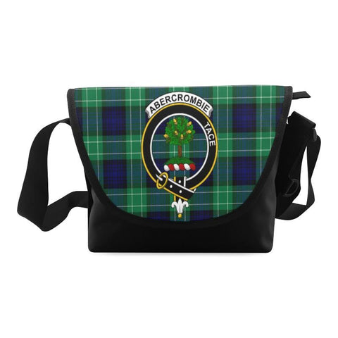 ABERCROMBIE TARTAN CLAN BADGE CROSSBODY BAG NN5