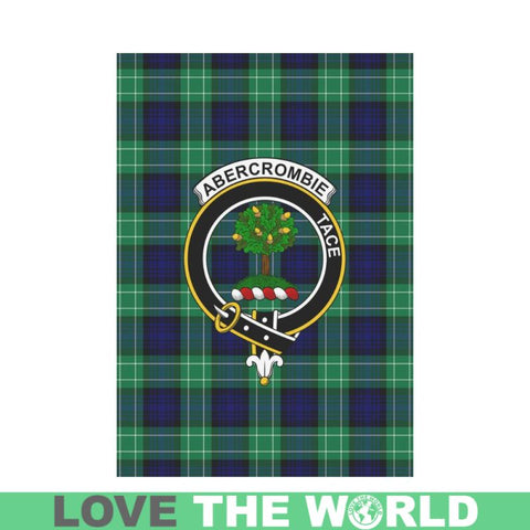 Abercrombie Tartan Flag Clan Badge K7