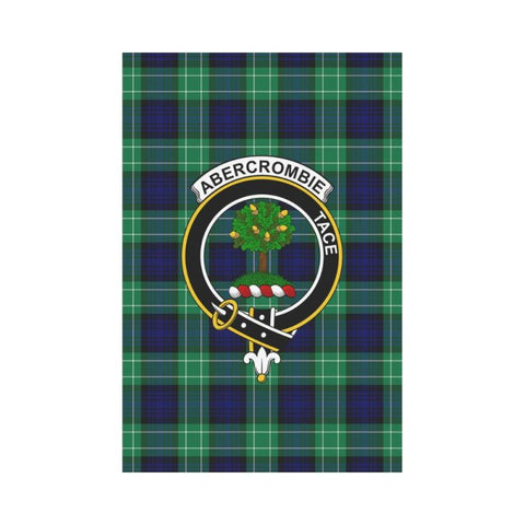 Abercrombie Tartan Flag Clan Badge