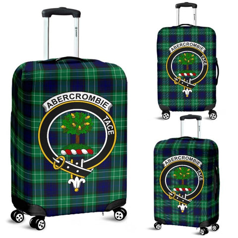 Abercrombie Tartan Clan Badge Luggage Cover