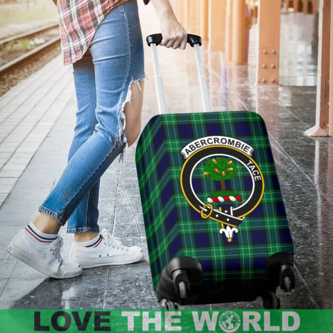 Abercrombie Plaid Luggage Cover