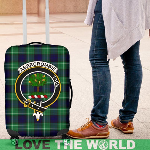 Abercrombie Tartan Clan Badge Luggage Cover HJ4 Covers