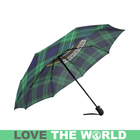 Abercrombie TARTAN CLAN BADGE AUTO-FOLDABLE UMBRELLA R1