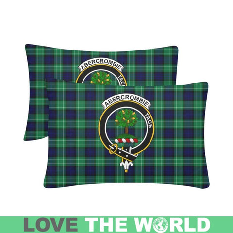 Abercrombie Tartan Clan Badge Rectangle Pillow Hj4 One Size / Abercrombie Custom Zippered Pillow
