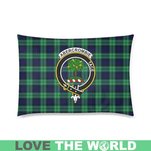 Abercrombie Tartan Clan Badge Rectangle Pillow Cover HJ4