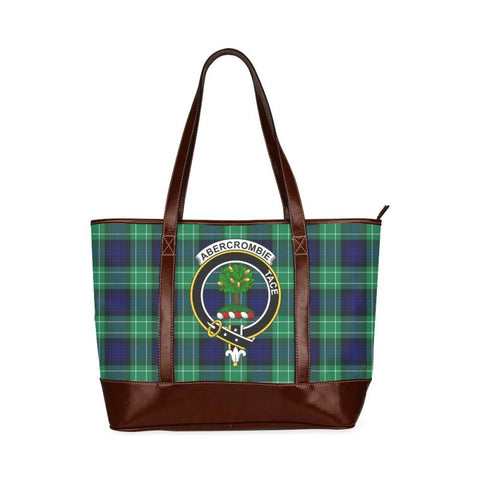 Abercrombie Tartan Clan Badge Tote Handbag Hj4 Handbags