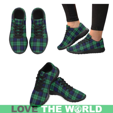 Image of Abercrombie Tartan Running Shoes Hj4 Us6 / Abercrombie Black Womens Running Shoes (Model 020)