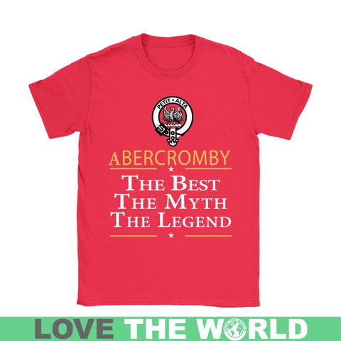 Image of Abercromby The Best N6 Gildan Womens T-Shirt / Black S T-Shirts
