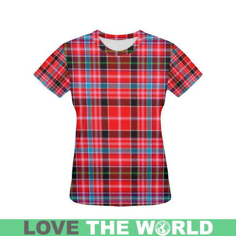 Tartan T-shirt - Aberdeen District| Tartan Clothing | Over 500 Tartans and 300 Clans