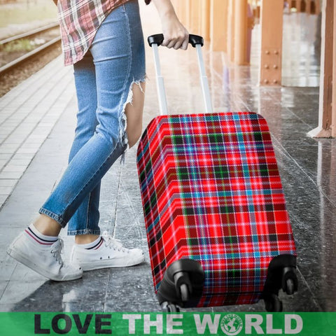 Aberdeen District Tartan Luggage Cover Hj4 Covers