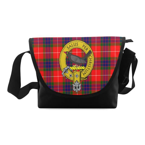 ABERNETHY TARTAN CLAN BADGE CROSSBODY BAG NN5