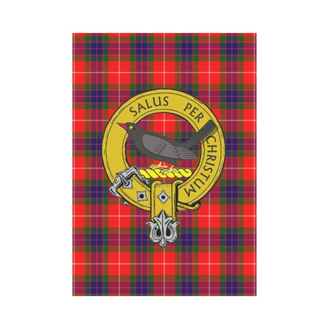 Abernethy Tartan Flag Clan Badge