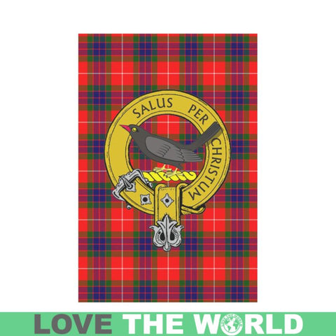 Abernethy Tartan Flag Clan Badge K7