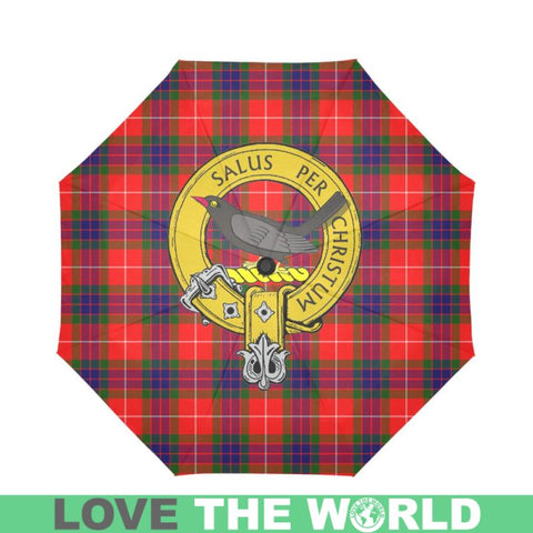 Abernethy Clan Badge Tartan Umbrella Auto-Foldable  Th8
