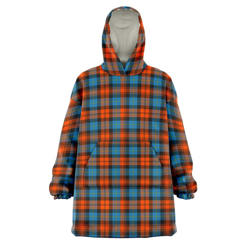 Image of MacLachlan Ancient Snug Hoodie - Unisex Tartan Plaid Front