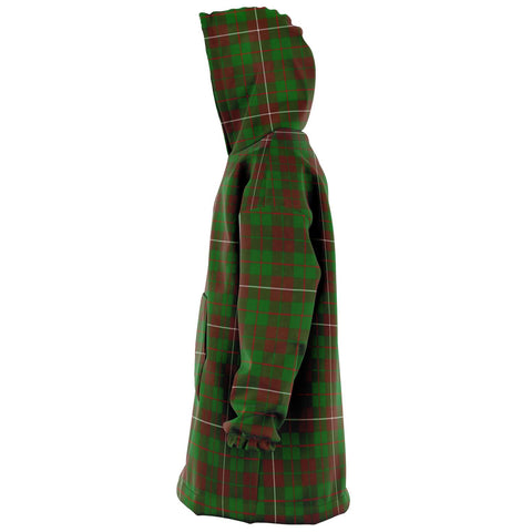 MacKinnon Hunting Modern Snug Hoodie - Unisex Tartan Plaid Left