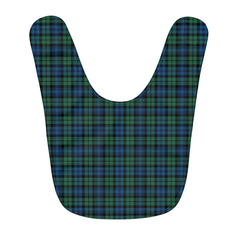 Campbell Ancient 02 Fleece Baby Bib | Kids Scottish Clothing | Bib Garment