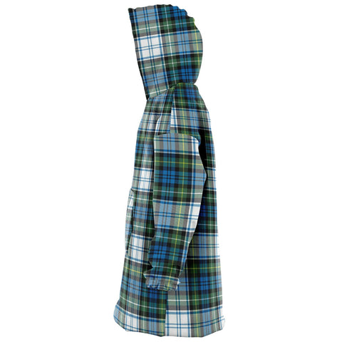 Campbell Dress Ancient Snug Hoodie - Unisex Tartan Plaid Left