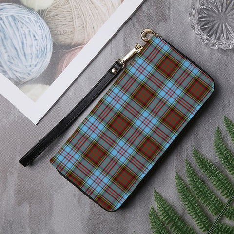 Image of ANDERSON TARTAN ZIPPER WALLET HJ4