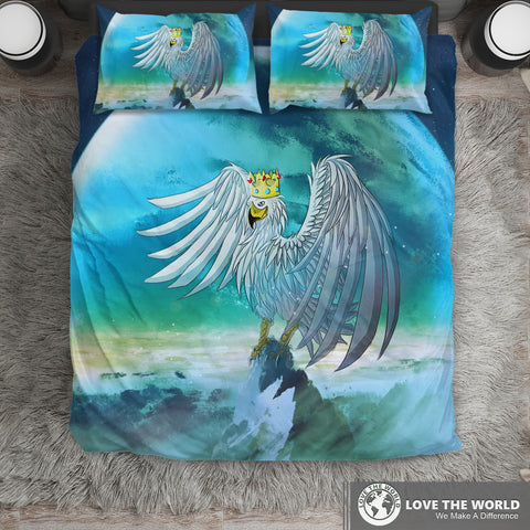 Poland Bedding Set - Polish Eagle King