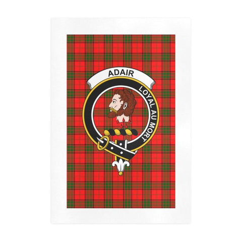 Adair Clan Tartan Art Print F1 One Size / 19í_í‡X28í_í‡ Prints