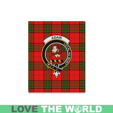 Tartan Canvas Print - Adair Clan | Over 300 Scottish Clans and 500 Tartans