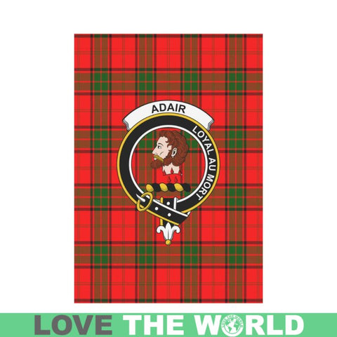 Adair Tartan Flag Clan Badge K7