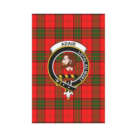 Adair Tartan Flag Clan Badge