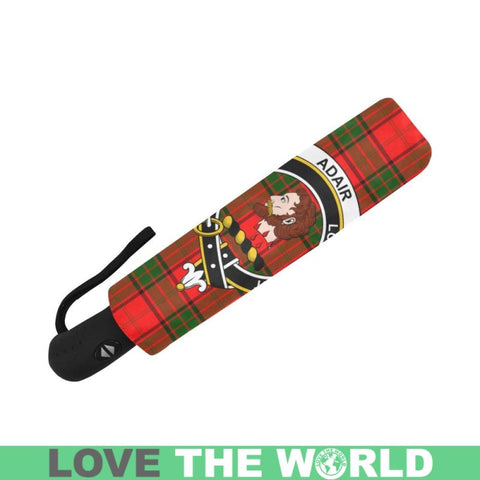 Adair TARTAN CLAN BADGE AUTO-FOLDABLE UMBRELLA R1