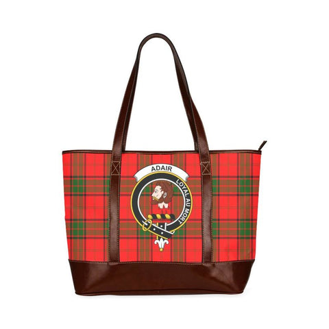 Adair Tartan Clan Badge Tote Handbag Hj4 Handbags