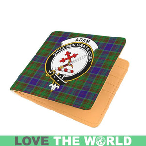 ADAM CLAN TARTAN MEN WALLET A3