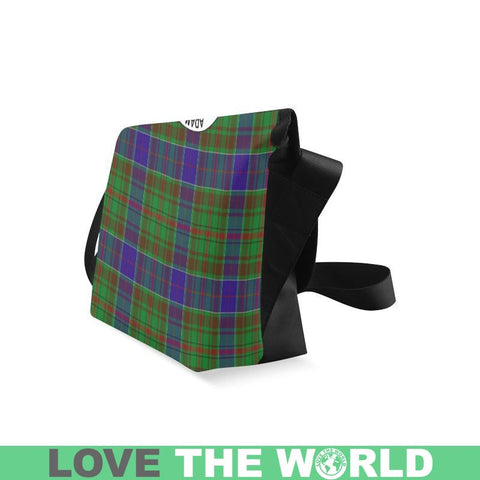 Adam Tartan Clan Badge Crossbody Bag C20 Bags
