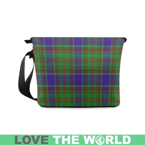 Image of Adam Tartan Clan Badge Crossbody Bag C20 Bags