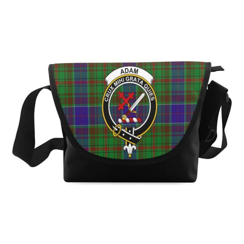 Image of ADAM TARTAN CLAN BADGE CROSSBODY BAG NN5