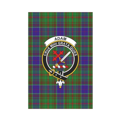 Adam Tartan Flag Clan Badge