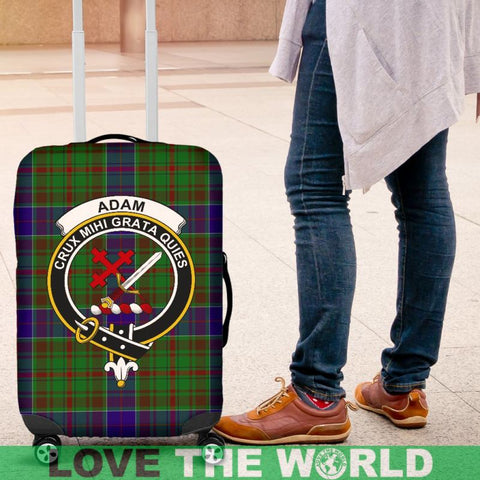 Adam Tartan Clan Badge Luggage Cover HJ4 Covers