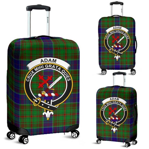 Adam Tartan Clan Badge Luggage Cover
