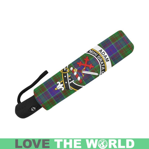 Adam TARTAN CLAN BADGE AUTO-FOLDABLE UMBRELLA R1