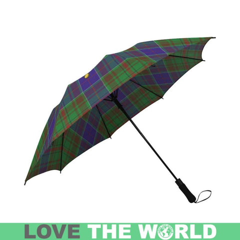 Adam Tartan Clan Badge Semi-Automatic Foldable Umbrella R1 Semi Umbrellas